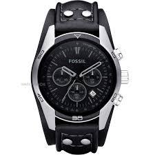 "men s fossil trend chronograph cuff watch ch2586 watch shop comâ""¢ mens fossil trend chronograph cuff watch ch2586"