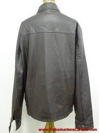 men s ga milano leather look racing jacket size xl 151753l