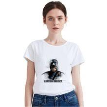 Shop Captain <b>Marvel T Shirt</b> Women - Great deals on Captain ...