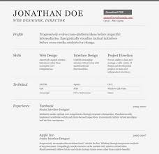 Free Html Resume Template Best 48 Professional HTML CSS Resume Templates For Free Download And