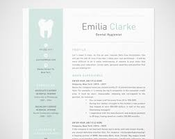 cv template word francais dental hygienist resume template for word rdh dentist cv etsy