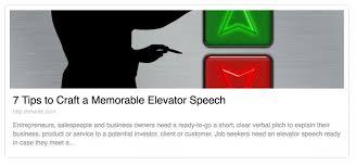 Elavator Speech How To Craft A Killer Elevator Speech Sales Assassin