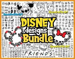 An unprecedented collection of the world's most beloved movies and tv series. Disney Svg Bundle Etsy