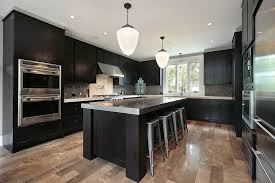 wooden tables and chairs corner white chalk paint dark kitchen cabinets vs white sharp luxury small