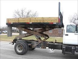 All Chevy chevy c6500 flatbed : 1998 GMC C6500 dump/scissor lift body truck for sale | sold at ...