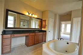 large bathroom wall mirror wood framed bathroom wall mirrors with single sink bathroom vanity and built large bathroom wall mirror