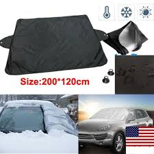 Frost Guard Windshield Cover Size Chart Details About Car Windshield Cover Sun Shade Protector Winter Snow Ice Rain Dust Frost Guard