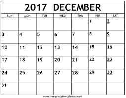 Free Printable December Calendar December 2017 Calendar Get Free