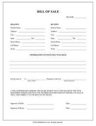 Bill Of Sale Auto California Sample Bill Of Sale For Used Car In California Along With Free Auto