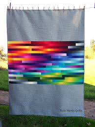 Reserved for Beth, Twin Quilt, Modern Quilt, Handmade Quilt ... & Reserved for Beth, Twin Quilt, Modern Quilt, Handmade Quilt, Rainbow Quilt,  Ombre Quilt, Quilts For Sale, Gender Neutral, Busy Hands Quilts Adamdwight.com