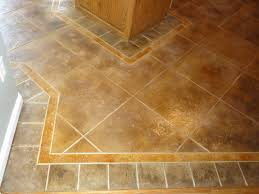 Kitchen Flooring Idea Floor Tile Patterns Concrete Kitchen Floor Random Tile Pattern