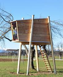 Free Standing Tree House Plans DIY Free Download Making A      standing tree house