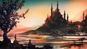 Fantasy Art Landscape Concept Art 4k ...