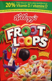 start off your day with a breakfast kids will love kellogg s froot loops cereal is part of a nutritious breakfast and conns no artificial flavours