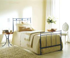 Black Iron Bedroom Bench