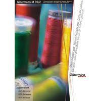 Gutermann Polyester Thread Colour Chart Gutermann Sew All 100 Polyester Thread Chart