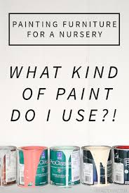 painted baby furniture. Painting Furniture For A Nursery  What Kind Of Paint Should I Use Painted Baby T