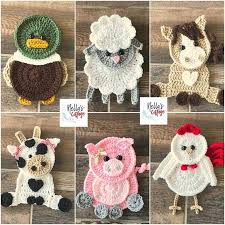 Crochet Animal Patterns Best Crochet Animal Appliques Patterns All The Best Ideas
