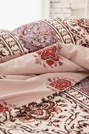 magical thinking boho stripe duvet cover sweetgalas