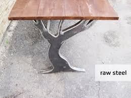 oak tree table legs dining table legs