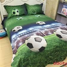3d soccer ball football duvet cover set bedding set pillowcase 4pcs queen size