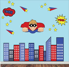 gallery of superhero wall art stickers view of photos superhero wall decals