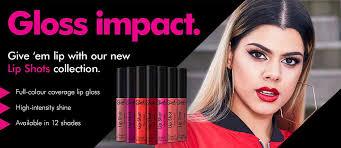 sleek makeup lipshot caign