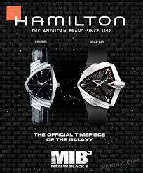 hamilton ventura will smith men in black 3 watch id hamilton promotion for the ventura watches in mib3 showing a classic and modern ventura