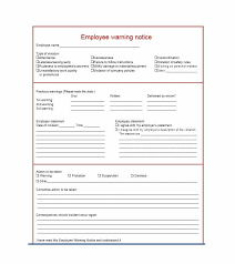 Employee Warning Notices Employee Warning Notice Download 56 Free Templates Forms