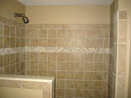 bathroom half wall tile tiny 2 bathroom with half wall tiles on shower half wall tile