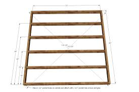 Twin Size Metal Bed Frame Dimensions Measurements Inside