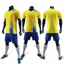 Best Football Jersey Design 2018 New Model 2018 Adult Cheap Soccer Kits Yellow Custom Plain Football Jersey Best Quality Buy Football Jersey Best Quality Custom Football