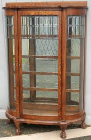 antique cabinet doors. larkin oak china cabinet with leaded glass door, brass lantern antiques antique doors