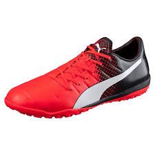 puma indoor soccer shoes for men. puma men shoes evopower 3.3 turf soccer red blast-puma white- indoor for t