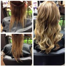 Dream Catchers Hair Extensions Before And After