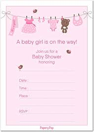 baby girl invite 30 baby shower invitations girl with envelopes 30 pack baby girl shower invite cards fits perfectly with pink baby shower decorations and