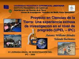 Proyecto De Ciencias Pdf Proyecto En Ciencias De La Tierra Una Experiencia