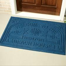 front door matWelcome Beach Oversized Personalized Doormat