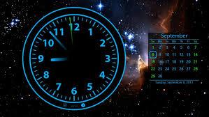 live clock wallpaper desktop free