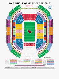 Seating Chart Arizona Cardinals Stadium Cardinals Stadium Diagram Arizona Cardinals Stadium