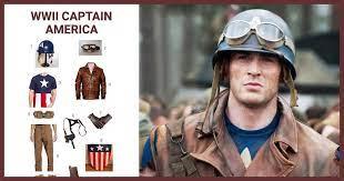 dress like wwii captain america costume