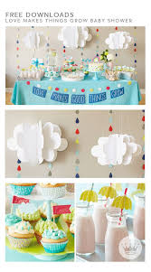 Throwing a baby shower? Your decorations will be both incredibly cute and  ridiculously easy,
