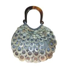 Mad By Design Bags Mad By Design Sterling Teardrop Evening Bag Handbags