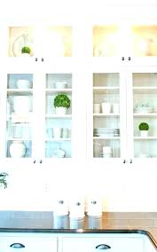 wall cabinet with glass doors s mounted curio oak display cabinets