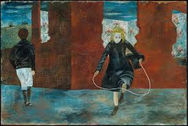 girl skipping rope 1943 ben shahn american born in lithuania