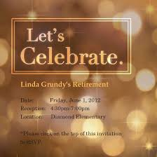 Retirement Celebration Invitation Template Free Retirement Invitations Template Best Template Collection