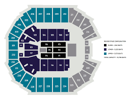 Seating Charts Spectrum Center Charlotte