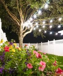 backyard diy series part ii canopy lights