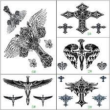 1 Pcs Non Toxic Vzor Velká Velikost Dočasné Tetování Totemová řada Velká Velikost Tělesné Arts Ruce Paže Waterproof