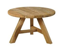 leduc outdoor coffee table small round
